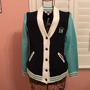 NWT Brooks Brothers Varsity Sweater L